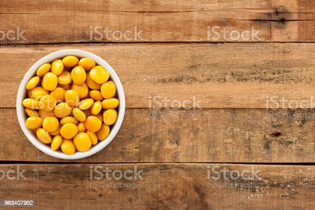Namoczona Fasola Żółta - zdjęcia stockowe i więcej obrazów Bez ludzi