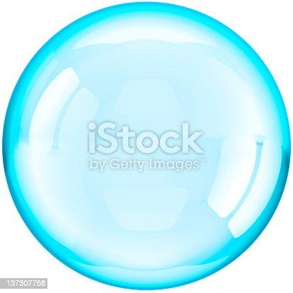 182110964 istock photo Soap bubble ball translucent 137307758