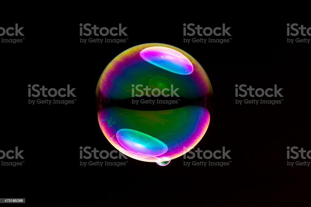 soap bubble stock photo