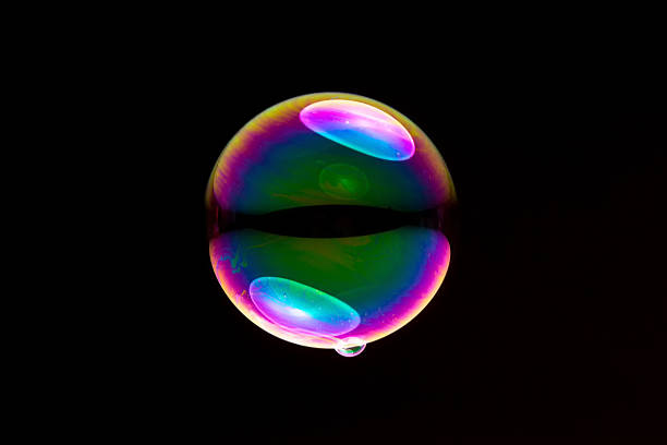 soap bubble - delude stock pictures, royalty-free photos & images