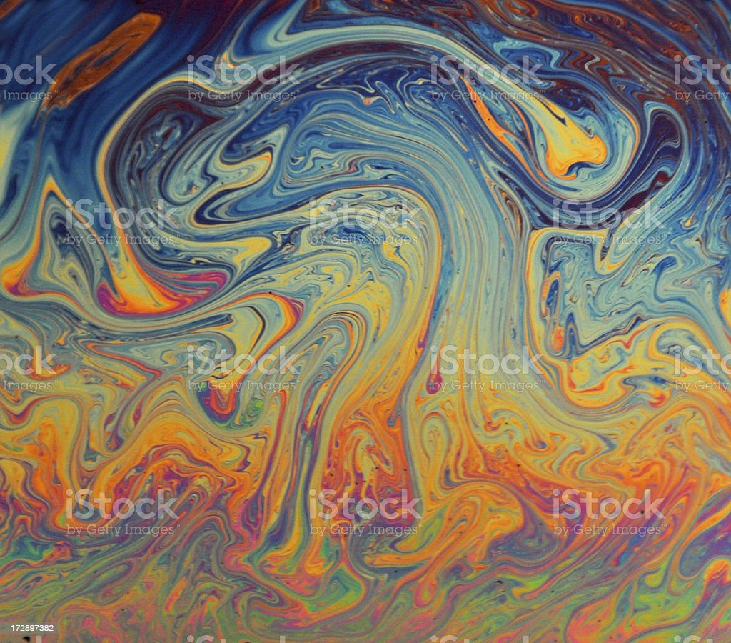 Soap Bubble Surface royalty-free stock photo