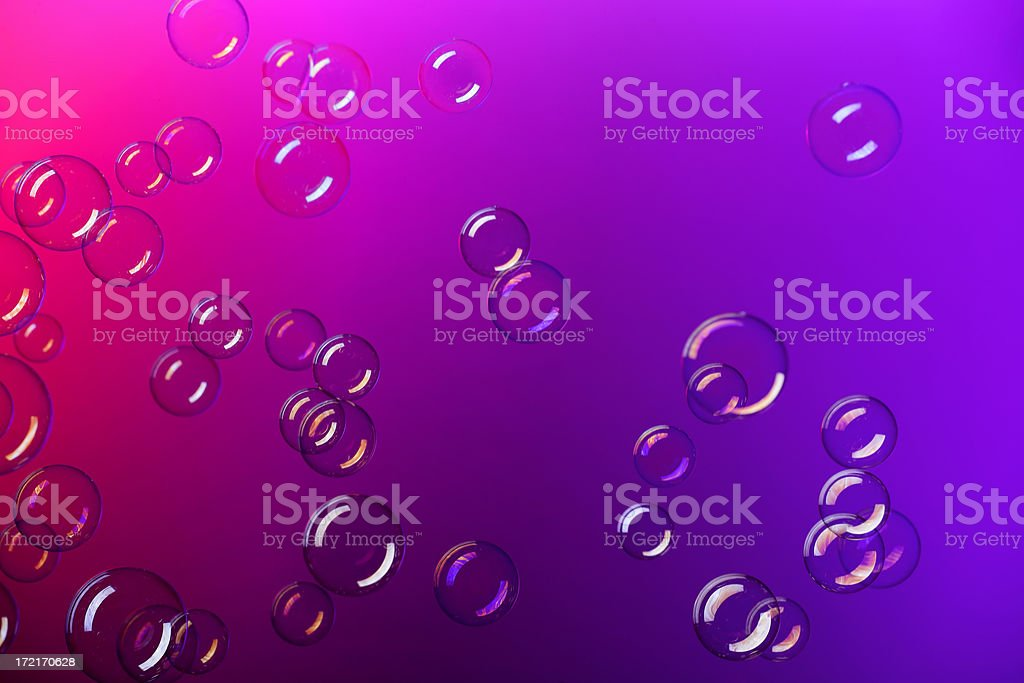 Soap bubbles background royalty-free stock photo