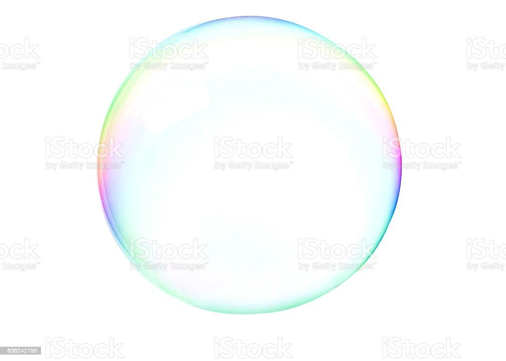 Soap bubblle