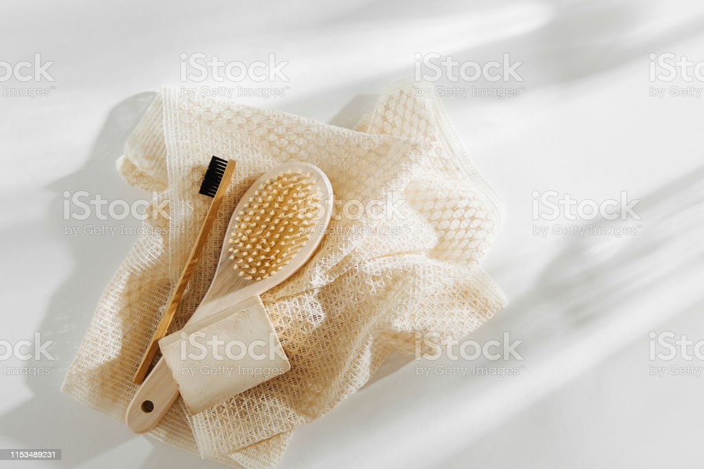 Soap Eco Bag, bamboo toothbrush, natural brush Eco cosmetics products...