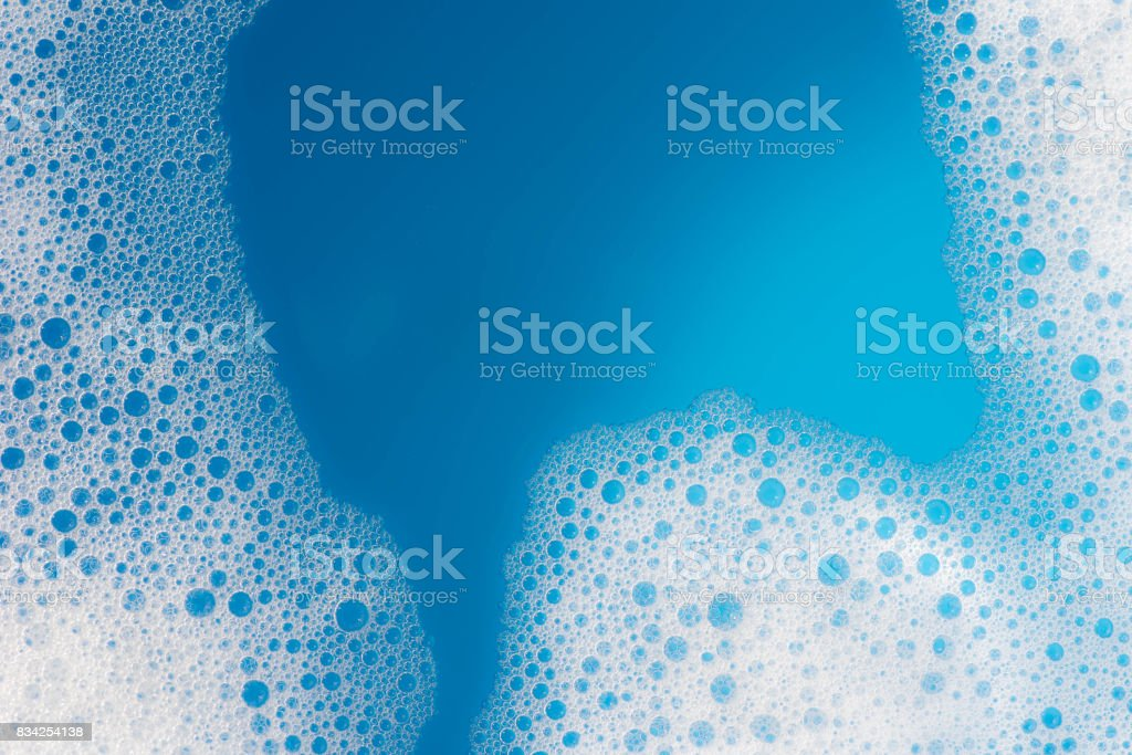 soap foam background texture stock photo