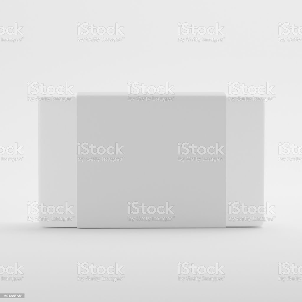 Soap Label Packaging Mock-up Template stock photo