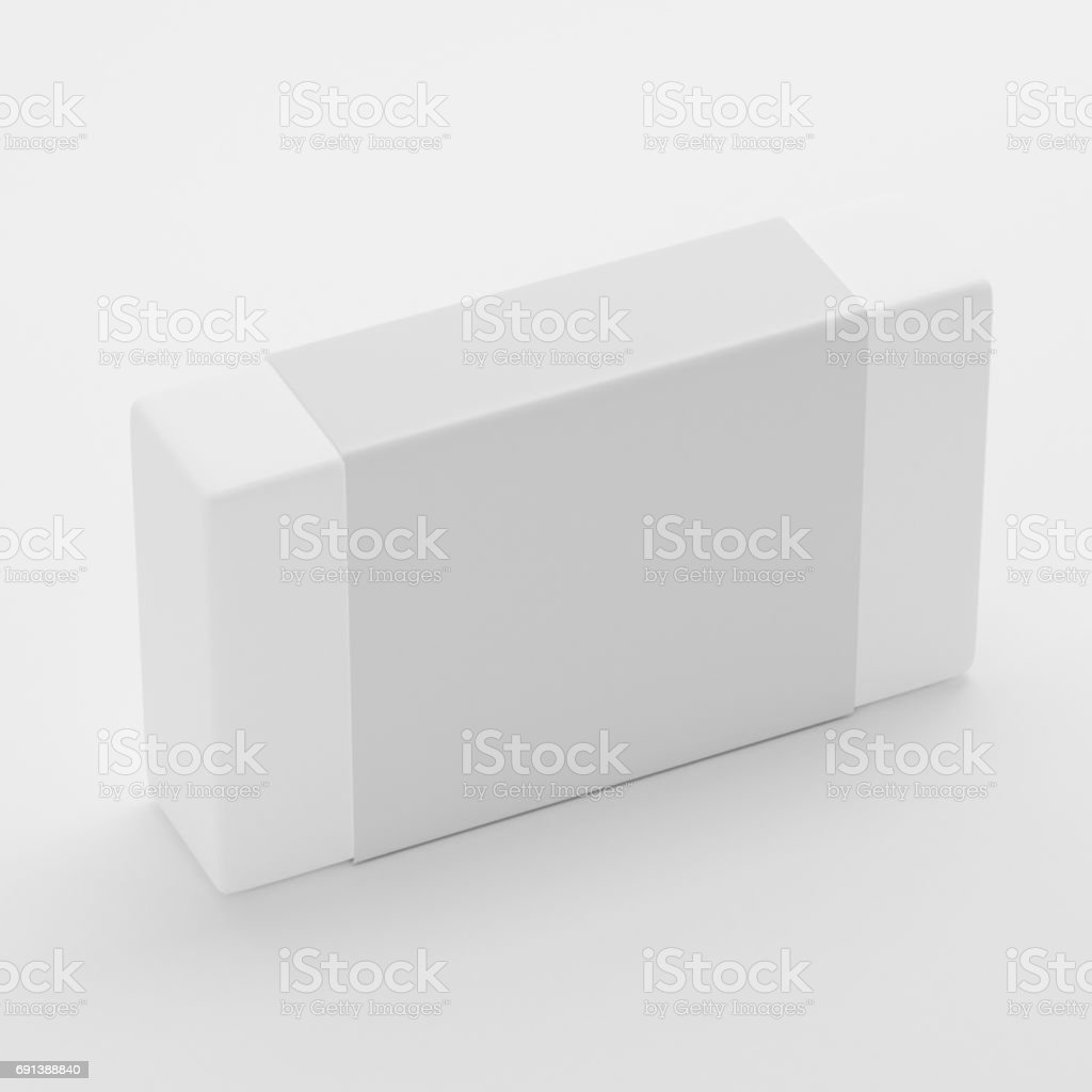 Soap Label Packaging Mockup Template Stock Photo & More Pictures of ...