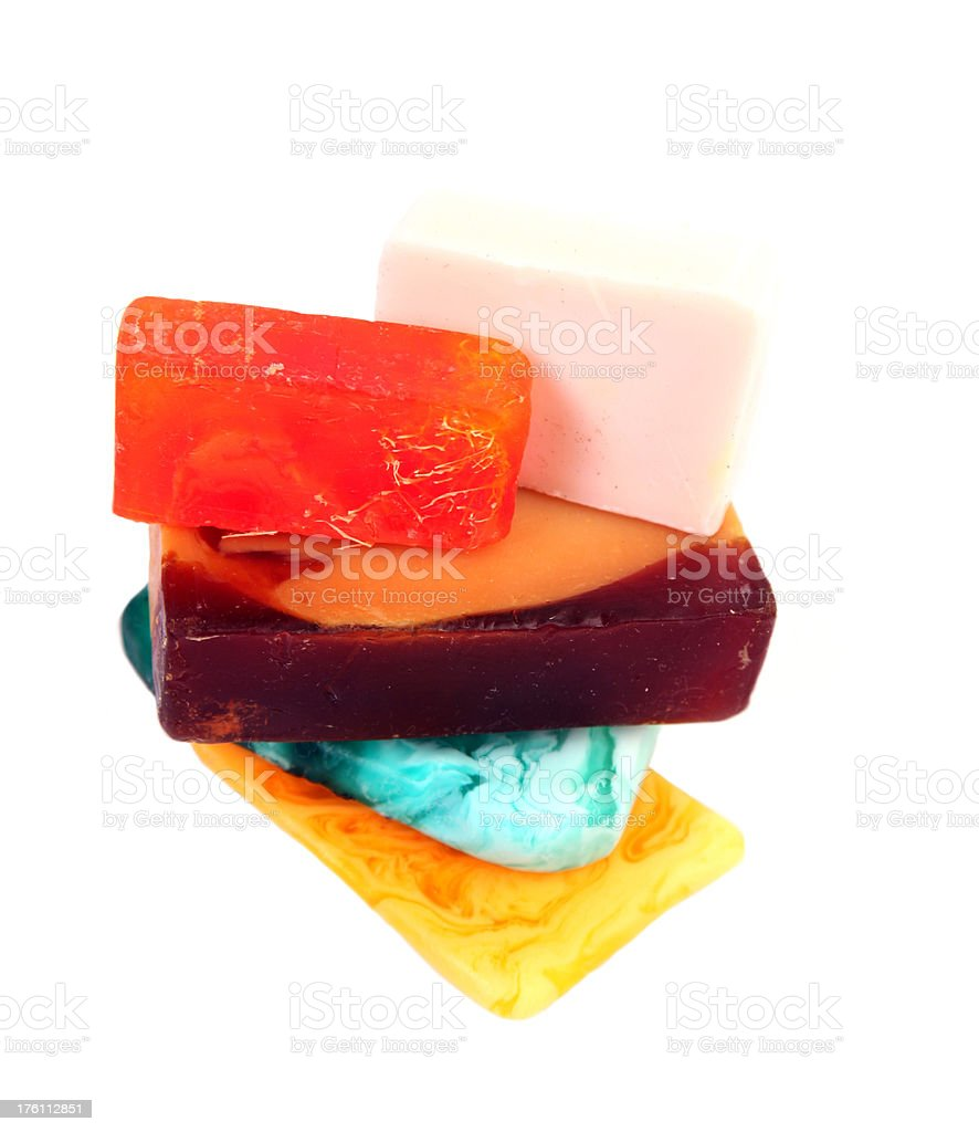 Soap. stock photo