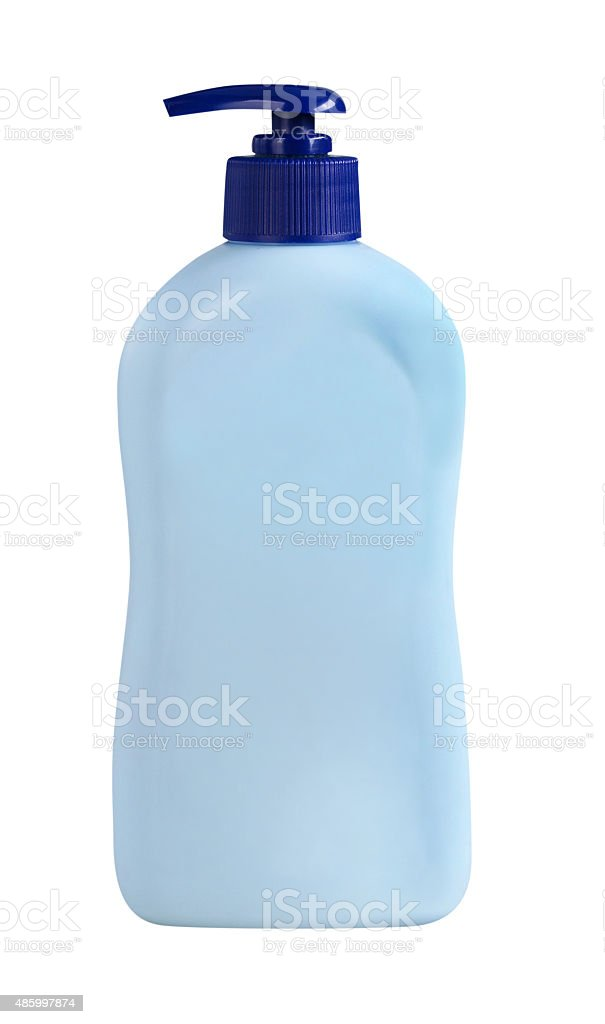 Jabón frasco de la bomba - foto de stock