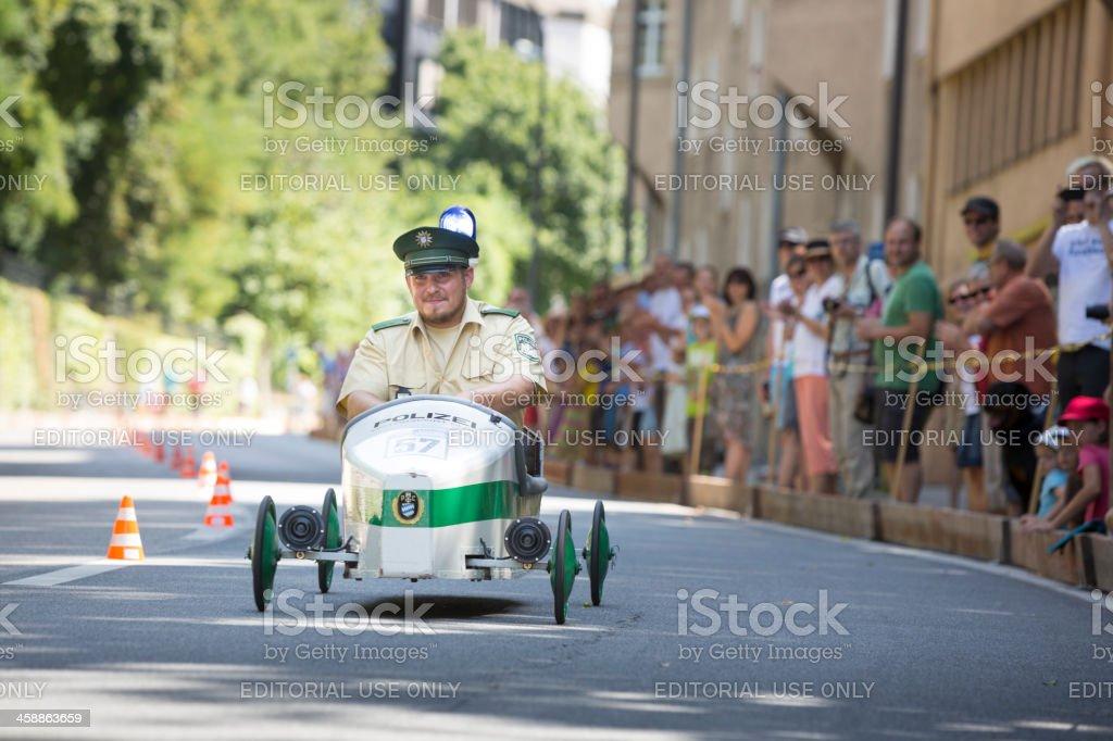 Soapbox car race in Munich royalty-free stock photo