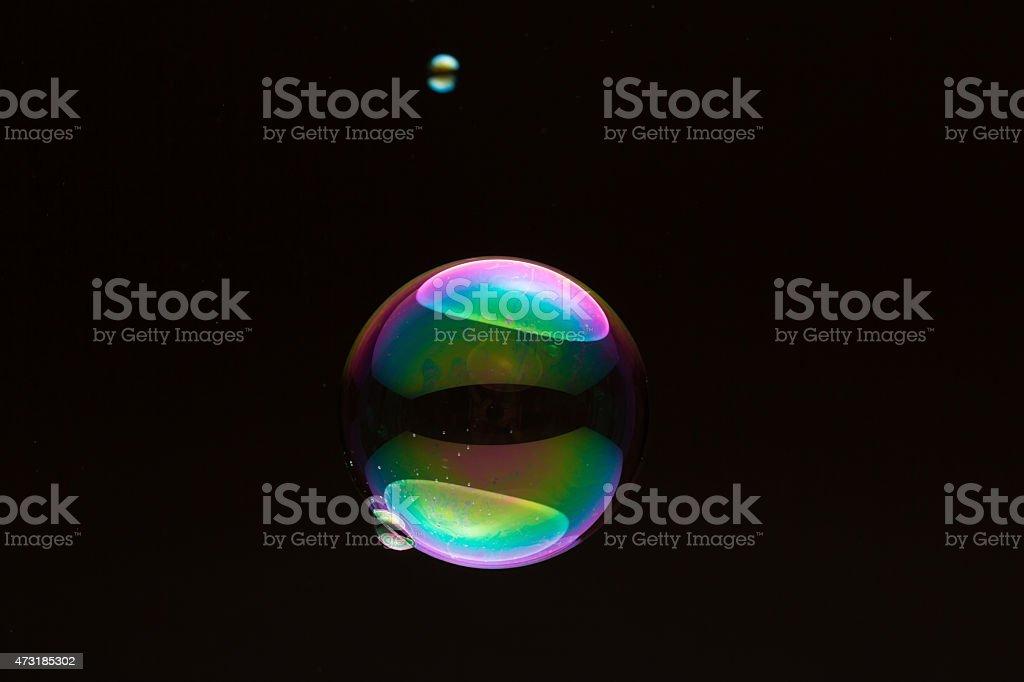 soapbubble - small and big stock photo