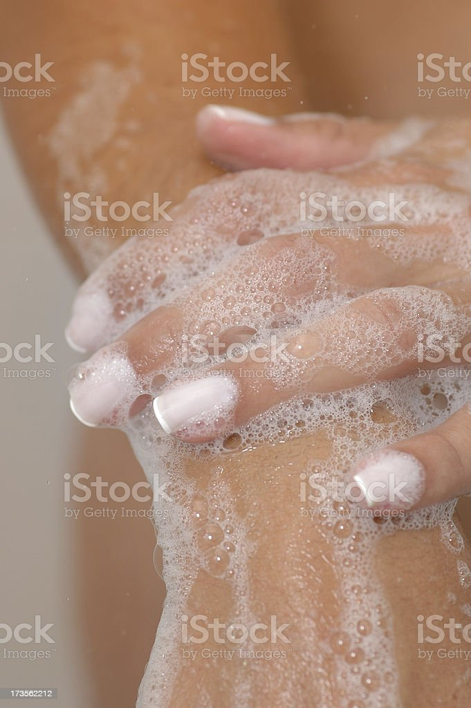soapnig stock photo