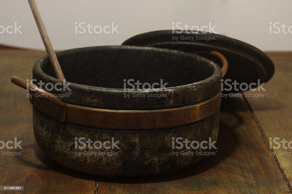 soapstone pan stock photo