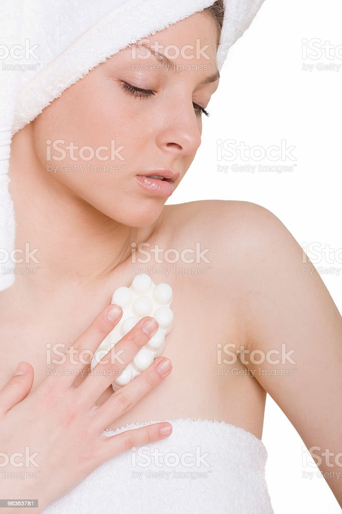 Soapy Time royalty-free stock photo