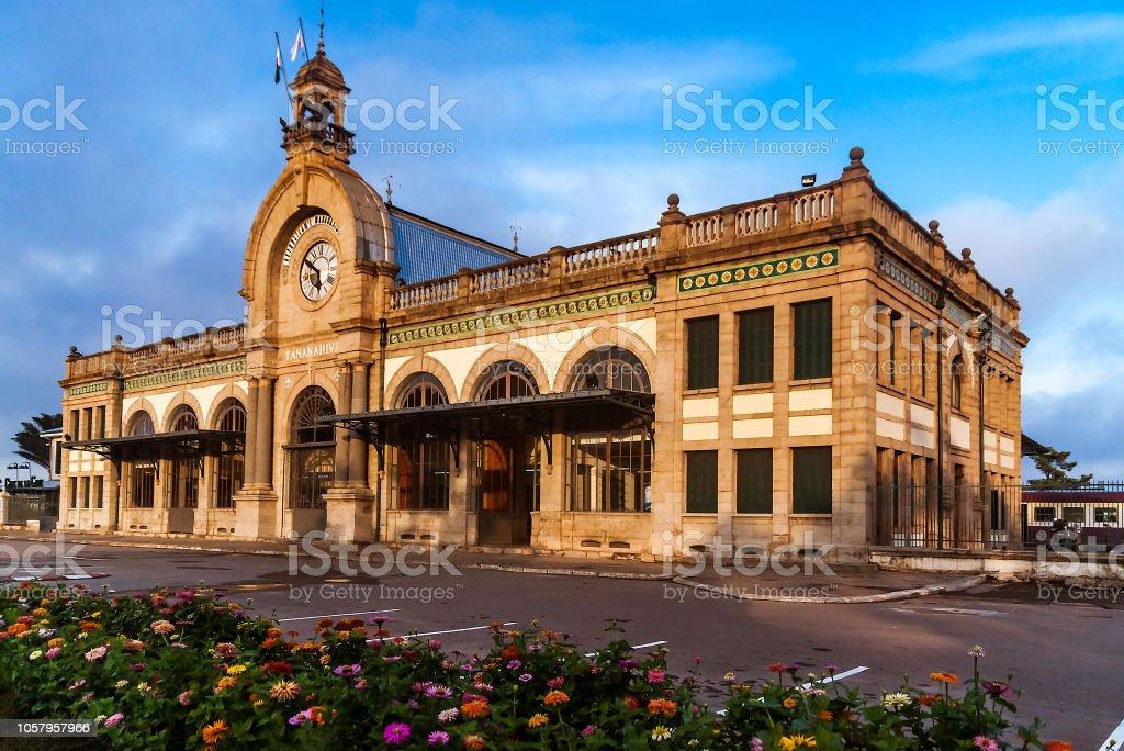 Soarano railway station stock photo