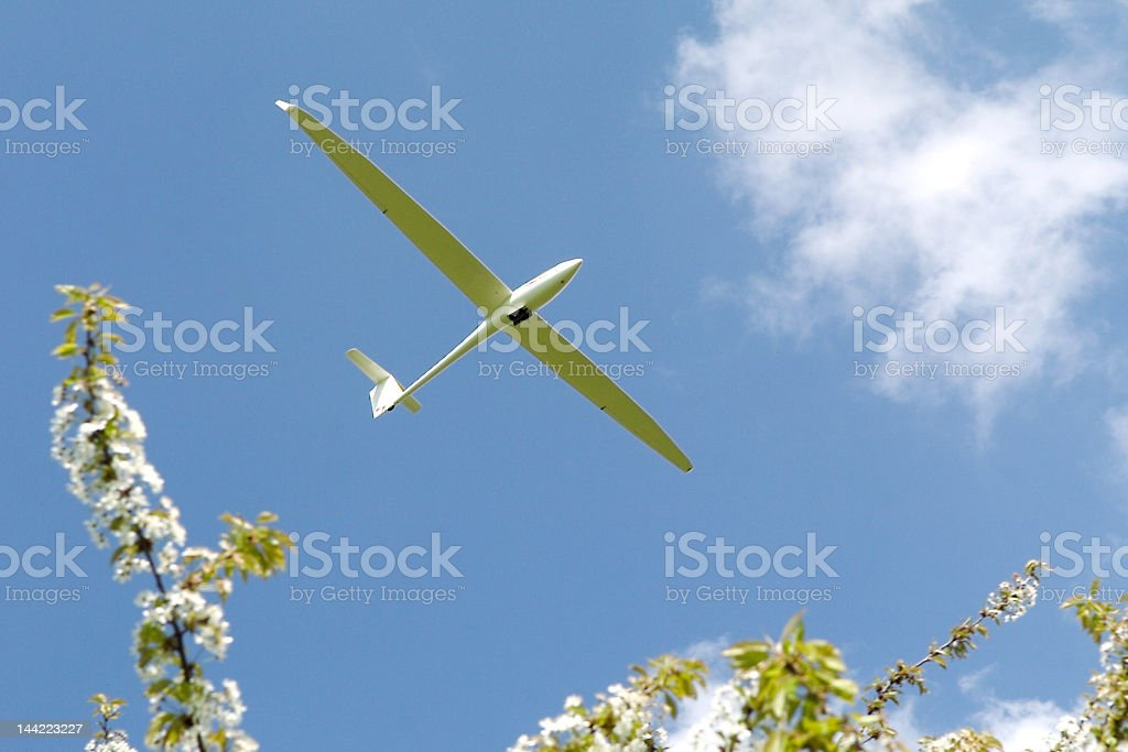 Soaring Glider royalty-free stock photo