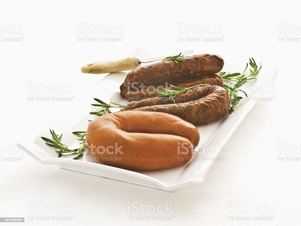 Sobrasada and Chorizo stock photo