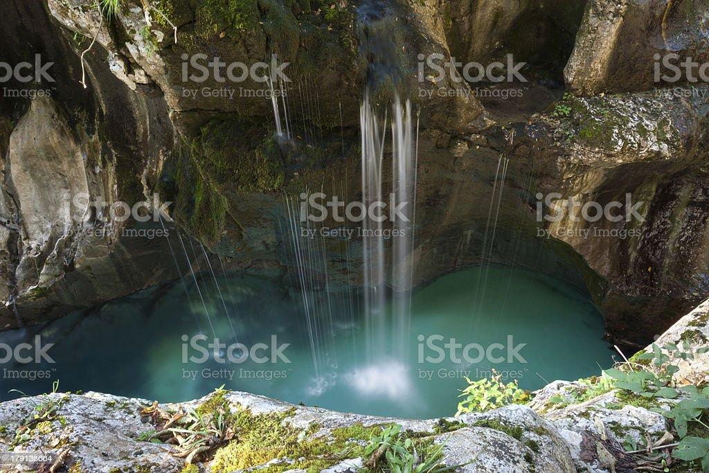 Soca great canyon stock photo
