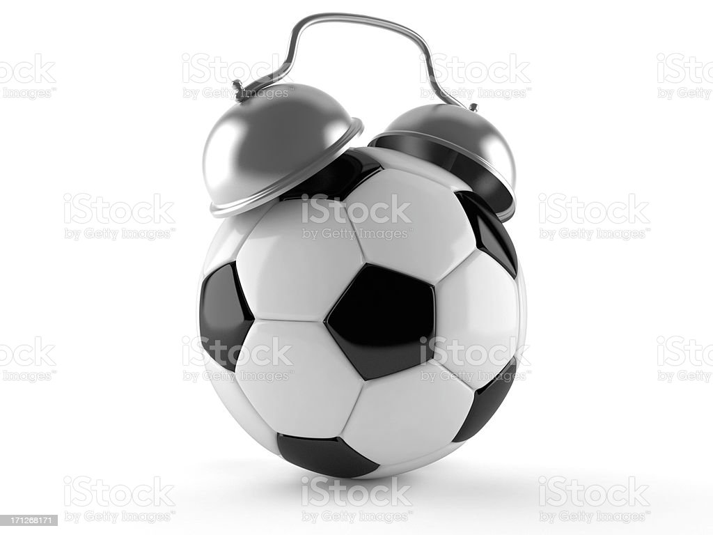 Soccer alert royalty-free stock photo