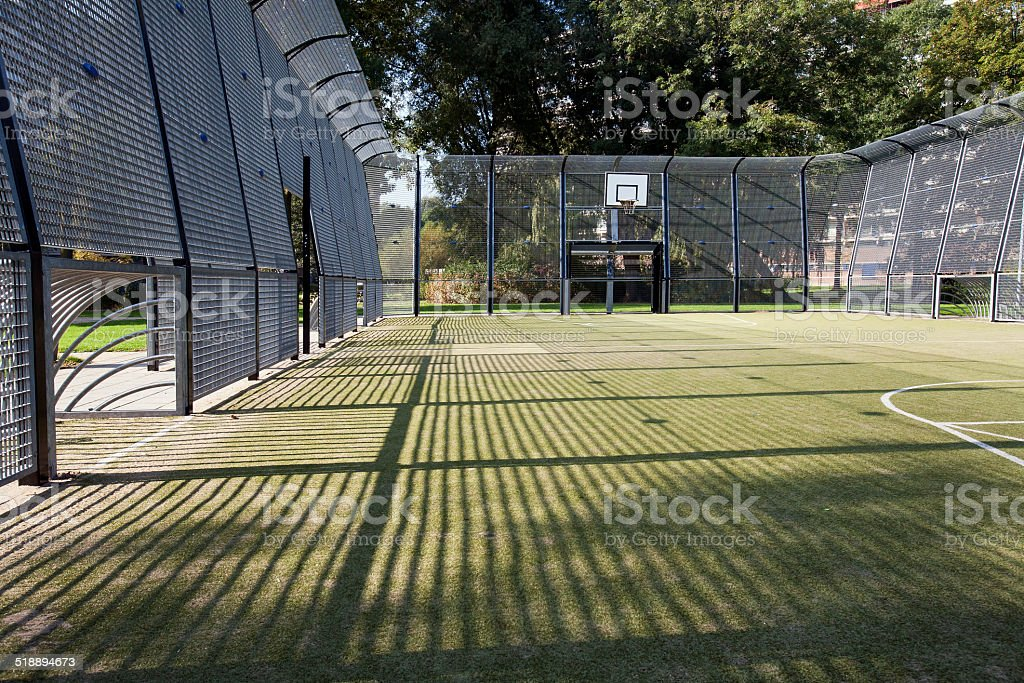 Soccer and basketball cage​​​ foto