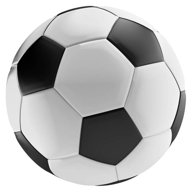 Soccer Ball 3d-illustration – Foto