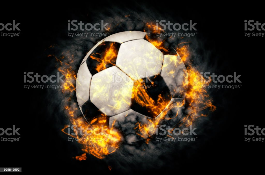 Soccer ball background - Royalty-free Abstract Stock Photo