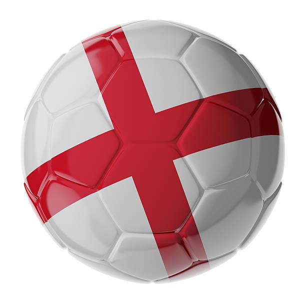 Fußball ball.  Flagge von England – Foto