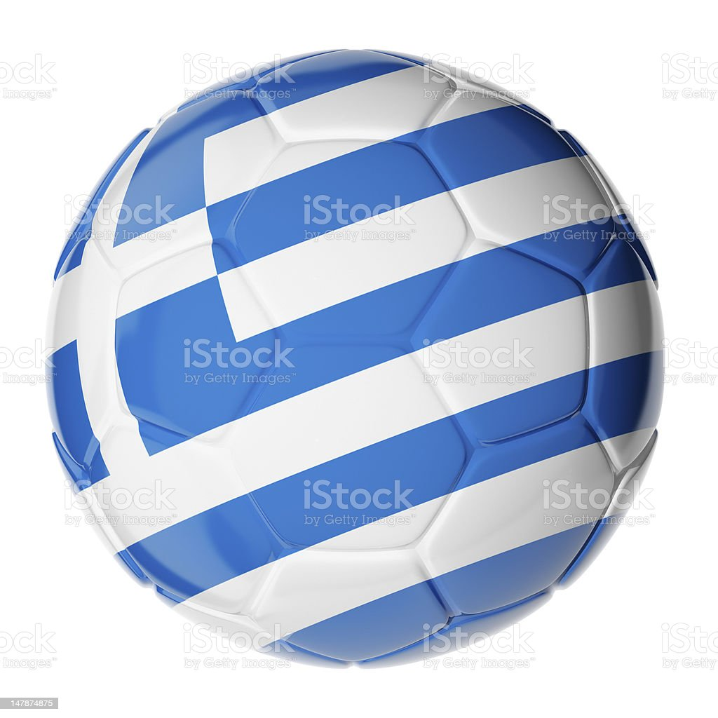 Soccer Ball Flag Of Greece Stock Photo   More Pictures of Ball  aea63c6a63