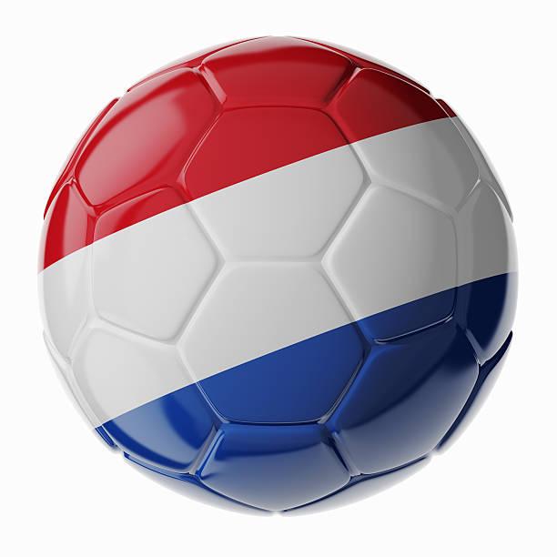 Fußball ball.  Flagge der Niederlande – Foto