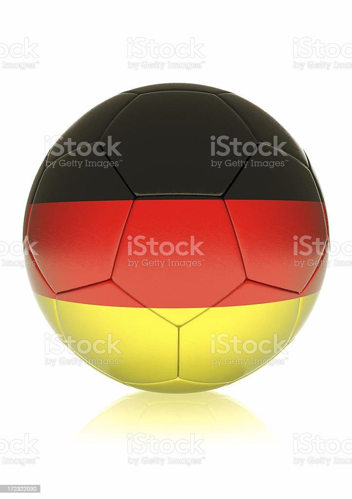 Soccer Ball GERMANY royalty-free stock photo