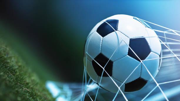 Fußball ball Ziel  – Foto