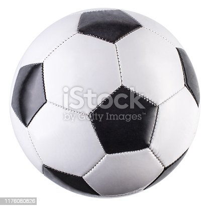 Soccer ball, isolated, white background