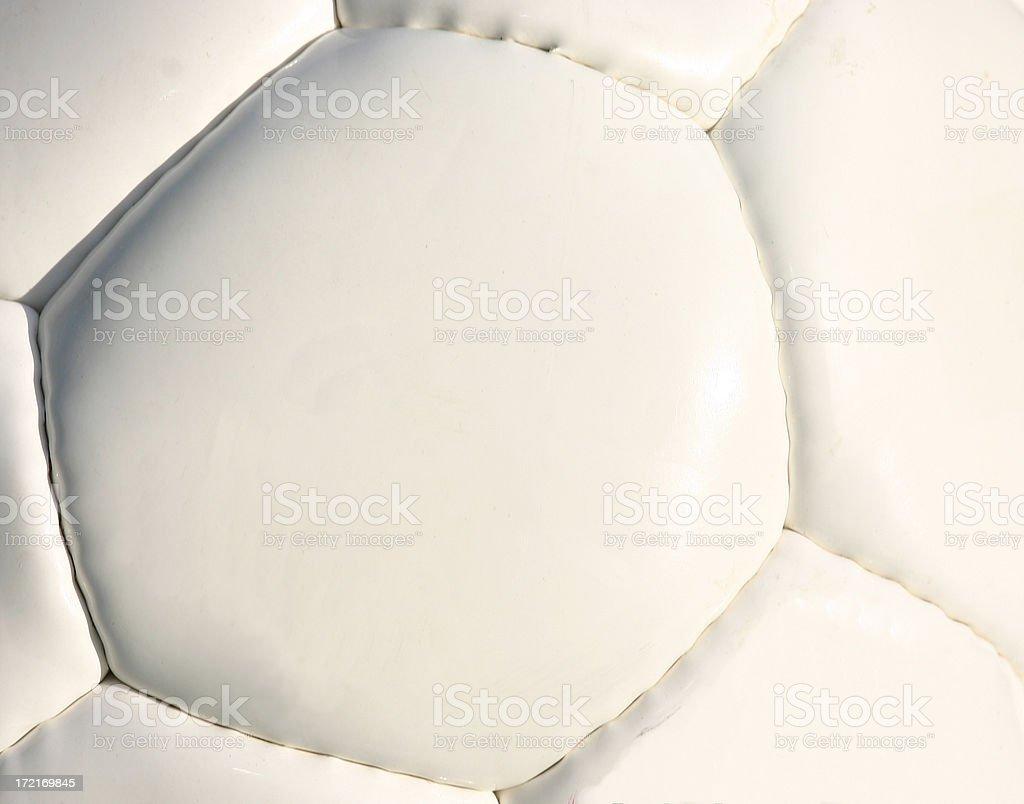 Soccer Ball - Macro royalty-free stock photo