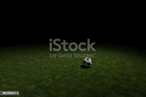 637298374istockphoto Soccer ball on a grass area 962686314