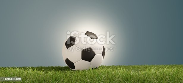 istock soccer ball on green grass success vibrant bright light abstract creative background 3d-illustration 1138096188