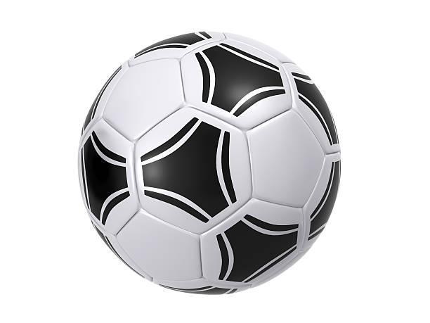 Pelota de fútbol - foto de stock