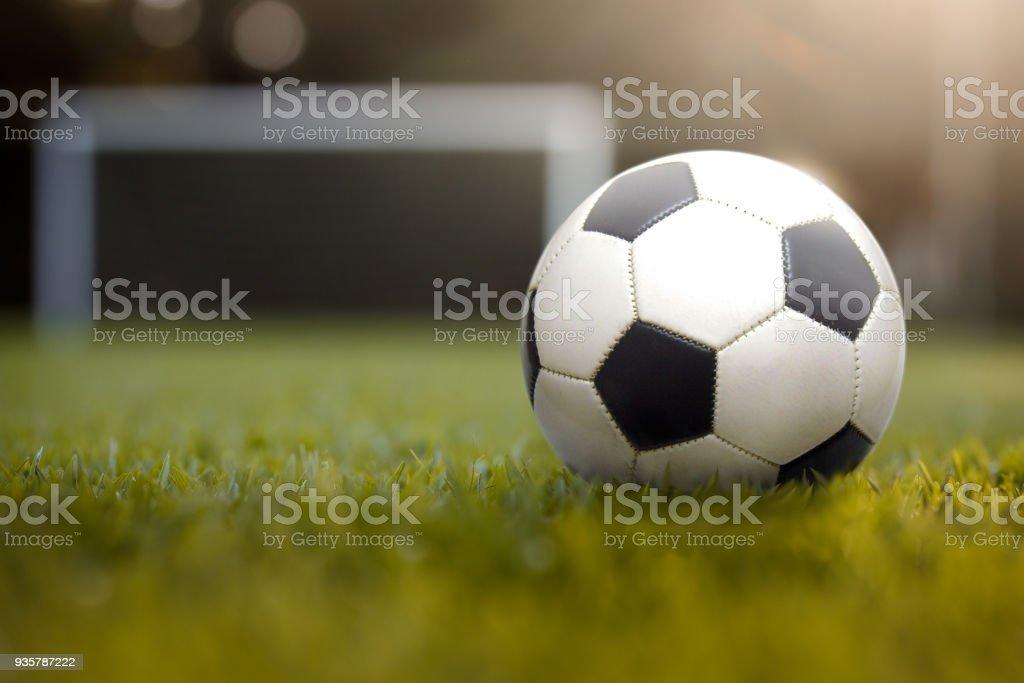 Bola de futebol - foto de acervo