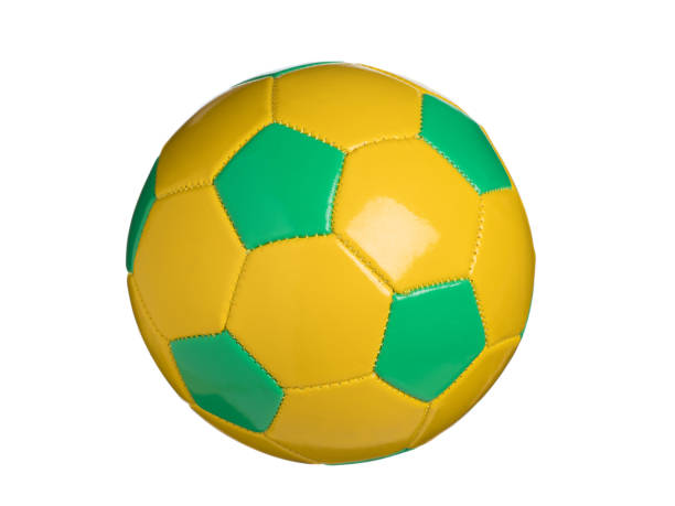 soccer ball - kelly green stock pictures, royalty-free photos & images