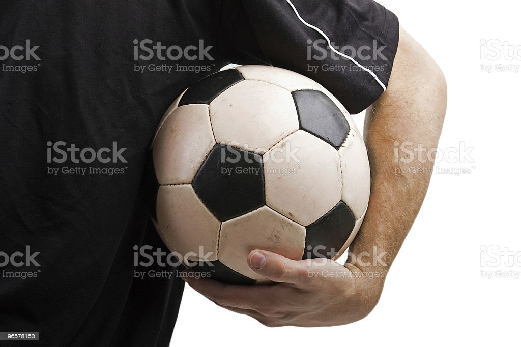 Soccer ball - Royalty-free Adult Stock Photo