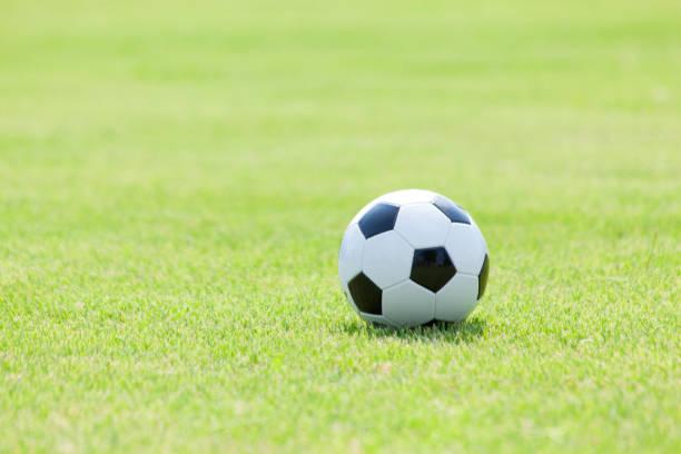 サッカーボール  ストックフォト