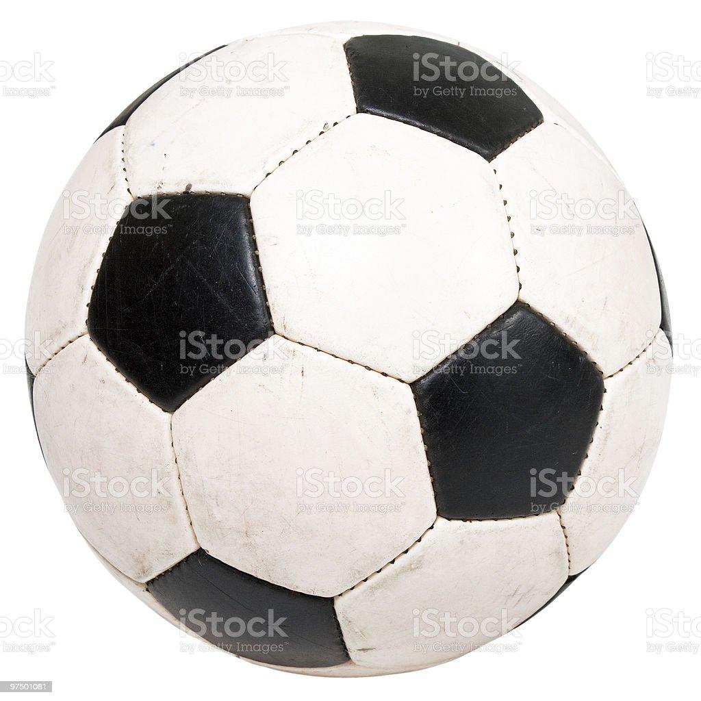 Soccer ball royalty-free stock photo