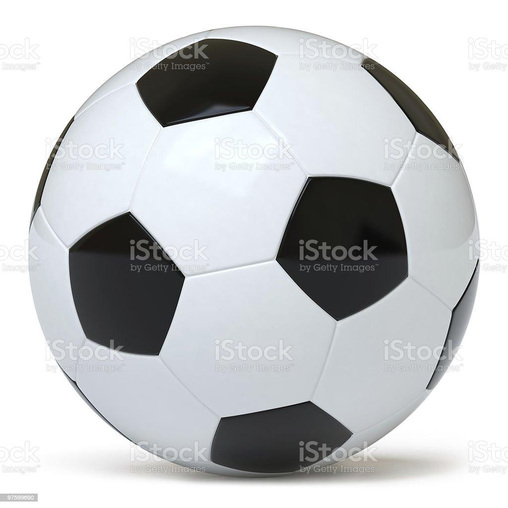 Soccer ball royaltyfri bildbanksbilder