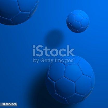 istock Soccer ball 992854608