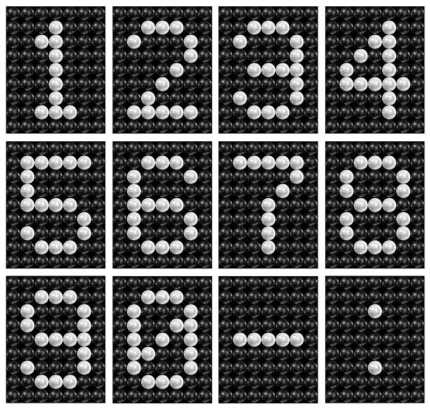 soccer ball score board number . - scoring stock photos and pictures