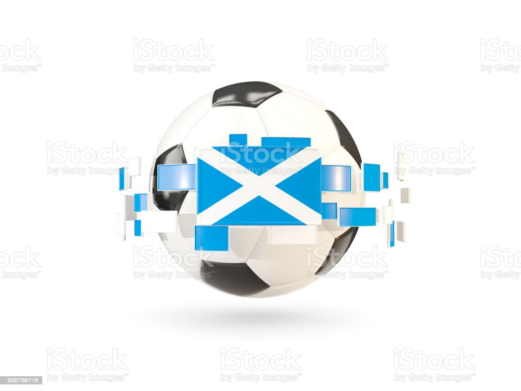 Soccer ball with line of flags flag of scotland stock photo more ball flag national flag scottish flag soccer ball biocorpaavc Choice Image