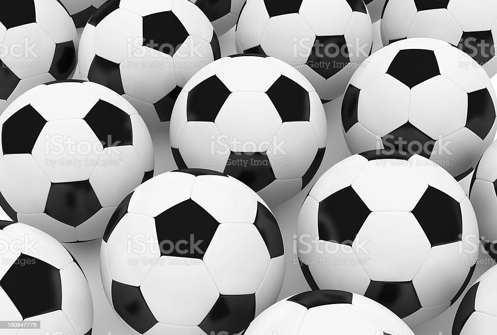 Soccer Balls royalty-free stock photo