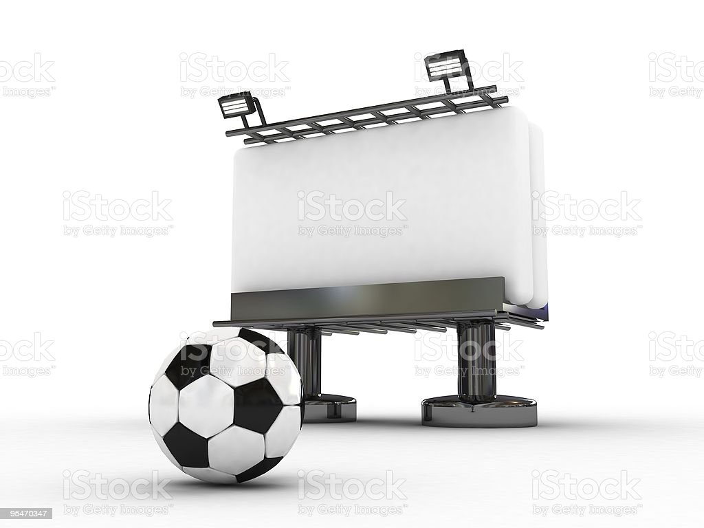 soccer board royalty-free stock photo