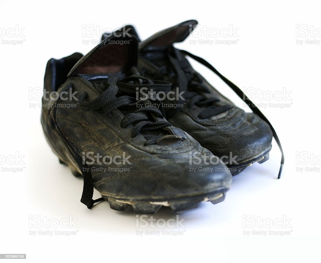 Soccer boots 1 royalty-free stock photo