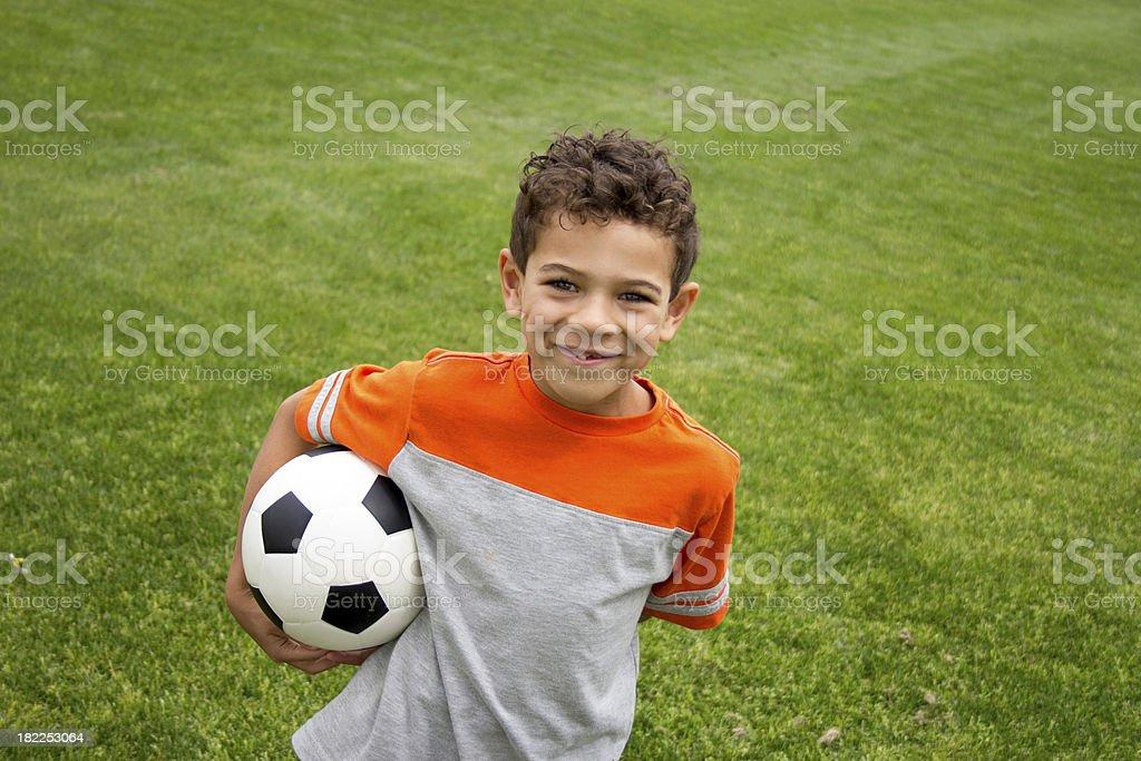 Soccer Boy stock photo