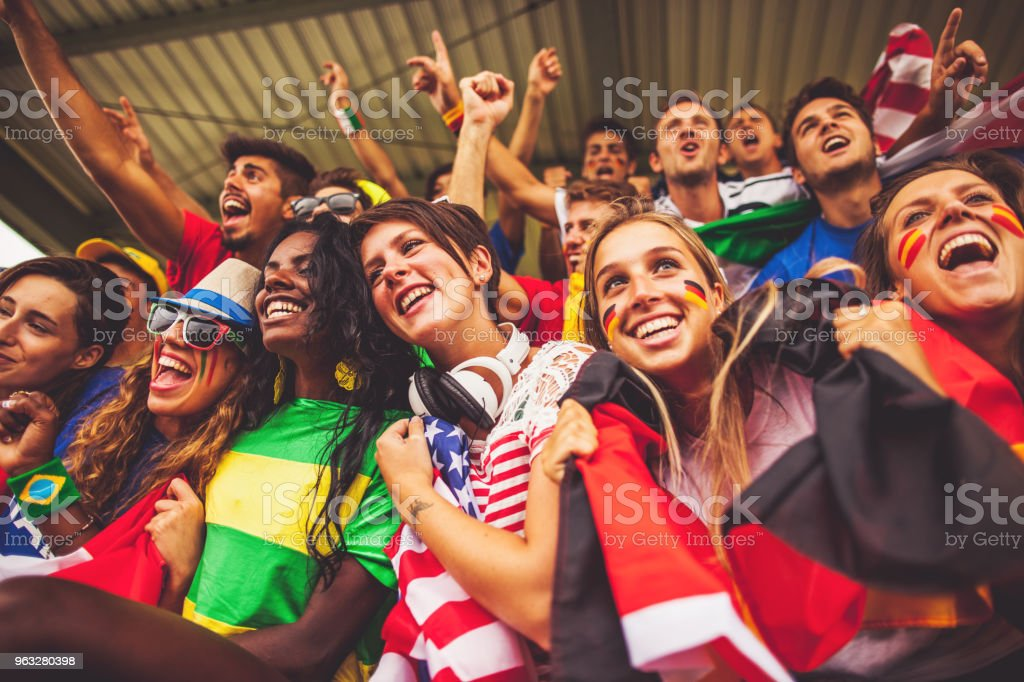 Fußball-WM-Fans: Fans der Nationalmannschaften – Foto